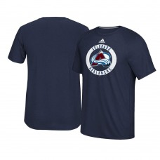 2017 Colorado Avalanche Navy Ultimate Adidas Team Practice T-shirt