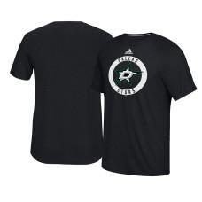 2017 Dallas Stars Black Ultimate Adidas Team Practice T-shirt