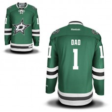 Dallas Stars Green Number One Dad Jersey