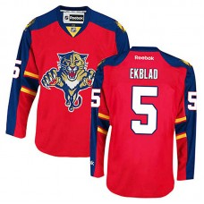 Florida Panthers Aaron Ekblad #5 Red Home Authentic Jersey