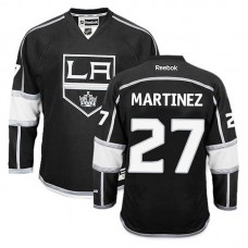 Los Angeles Kings Alec Martinez #27 Black Home Jersey