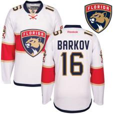 Aleksander Barkov #16 Florida Panthers White Away Premier Jersey