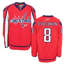 Youth Washington Capitals Alex Ovechkin #8 Red Home Jersey