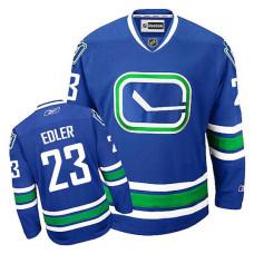 Vancouver Canucks Alexander Edler #23 Royal Blue Alternate Jersey