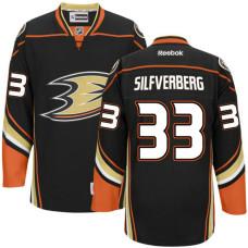 Anaheim Ducks Jakob Silfverberg #33 Black Home Premier Jersey