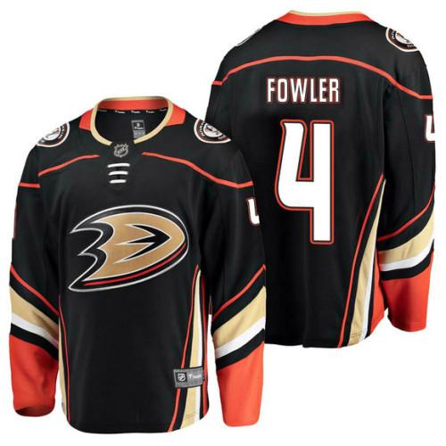 Anaheim Ducks  4 Breakaway Player Cam Fowler Jersey Black d54e3fbf8