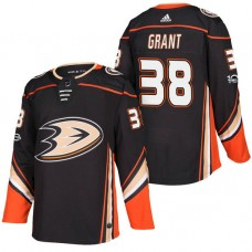 Anaheim Ducks #38 Derek Grant Black 2018 New Season Player Home Jersey