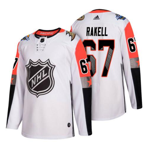 brand new a2a1f 6e856 Anaheim Ducks #67 Rickard Rakell 2018 All Star Jersey