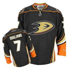 Anaheim Ducks Andrew Cogliano #7 Black Alternate Jersey