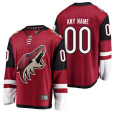 Arizona Coyotes Red 2018 Fanatics Branded Custom Jersey
