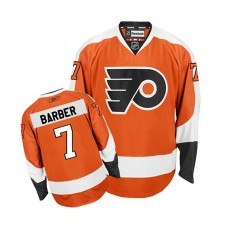 Philadelphia Flyers Bill Barber #7 Orange Home Jersey