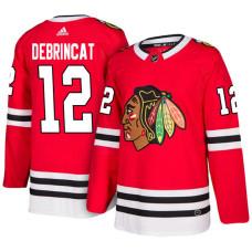 Chicago Blackhawks #12 Alex DeBrincat Red Home Jersey