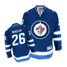 Winnipeg Jets Blake Wheeler #26 Navy Blue Home Jersey
