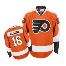 Women's Philadelphia Flyers Bobby Clarke #16 Orange Home Jersey