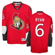Ottawa Senators Bobby Ryan #6 Red Home Jersey