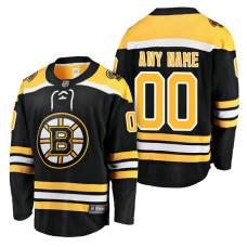 Boston Bruins 2018 Fanatics Branded Custom Jersey Black