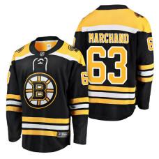 Boston Bruins #63 Breakaway Player Brad Marchand Jersey Black