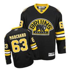 Youth Boston Bruins Brad Marchand #63 Black Alternate Jersey