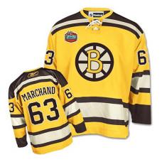 Boston Bruins Brad Marchand #63 Gold Winter Classic Jersey