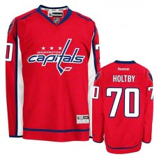 Women's Washington Capitals Braden Holtby #70 Red Home Jersey
