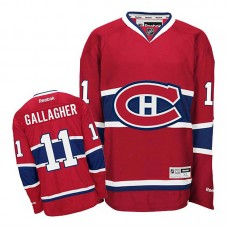 Youth Montreal Canadiens Brendan Gallagher #11 Red Home Jersey
