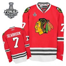 Chicago Blackhawks Brent Seabrook #7 Red 2015 Stanley Cup Home Jersey