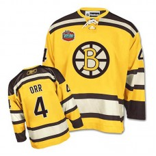Youth Boston Bruins Bobby Orr #4 Gold Winter Classic Jersey