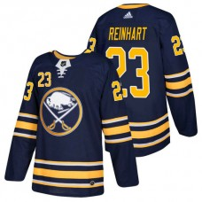 Buffalo Sabres #23 Sam Reinhart Navy 2018 New Season Home Authentic Jersey