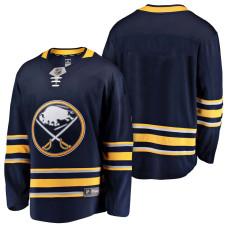 Buffalo Sabres Blue 2018 Fanatics Branded Blank Jersey