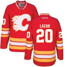 Calgary Flames #20 Curtis Lazar Red Hockey Alternate Premier Jersey