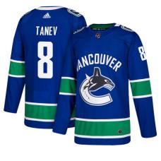 Vancouver Canucks #8 Christopher Tanev Royal Home Jersey