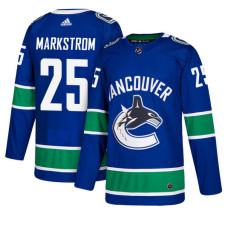 Vancouver Canucks #25 Jacob Markstrom Royal Home Jersey