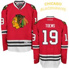 Chicago Blackhawks #19 Jonathan Toews Red Home Premier Jersey