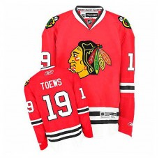 Youth Chicago Blackhawks Jonathan Toews #19 Red Home Jersey