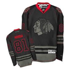 Chicago Blackhawks Marian Hossa #81 Black Premier Jersey