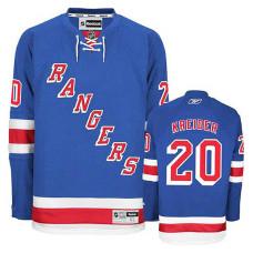 Youth New York Rangers Chris Kreider #20 Royal Blue Home Jersey