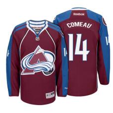 Colorado Avalanche #14 Blake Comeau Maroon Hockey Home Premier Jersey