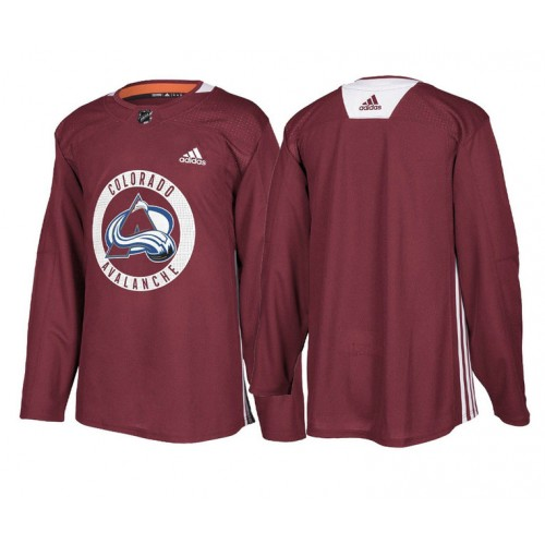 Colorado Avalanche Maroon Adidas Authentic Practice Jersey 8e0639293