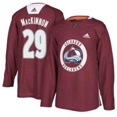 Colorado Avalanche #29 Maroon New Season Practice Nathan MacKinnon Jersey
