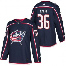 Columbus Blue Jackets #36 Zac Dalpe Navy 2018 New Season Player Home Jersey