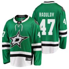 Dallas Stars #47 Breakaway Player Alexander Radulov Jersey Kelly Green