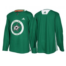 Dallas Stars Authentic Blank Home Jersey Kelly Green
