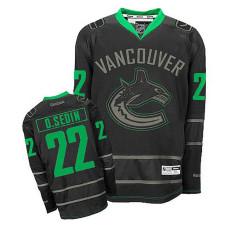 Vancouver Canucks Daniel Sedin #22 Black Premier Jersey