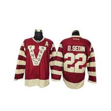 Vancouver Canucks Daniel Sedin #22 Red Premier Jersey