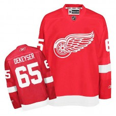 Detroit Red Wings Danny DeKeyser #65 Red Home Jersey