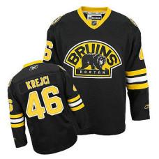 Youth Boston Bruins David Krejci #46 Black Alternate Jersey