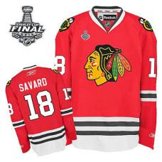Chicago Blackhawks Denis Savard #18 Red 2015 Stanley Cup Home Jersey