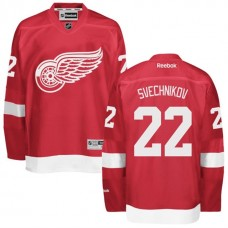 Detroit Red Wings #22 Evgeny Svechnikov Red Hockey Home Premier Jersey