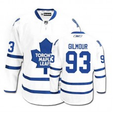 Youth Toronto Maple Leafs Doug Gilmour #93 White Away Jersey