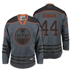 Edmonton Oilers #44 Zack Kassian Storm Cross Check Fashion Jersey